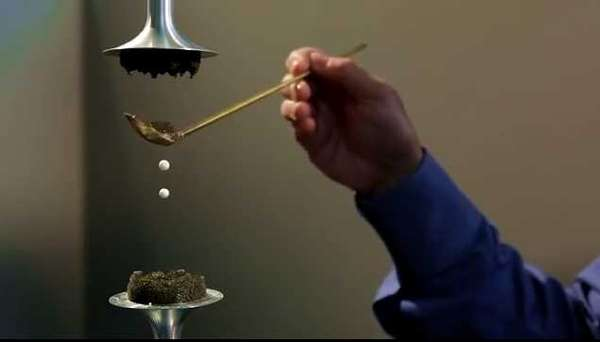 Levitating Water Droplets