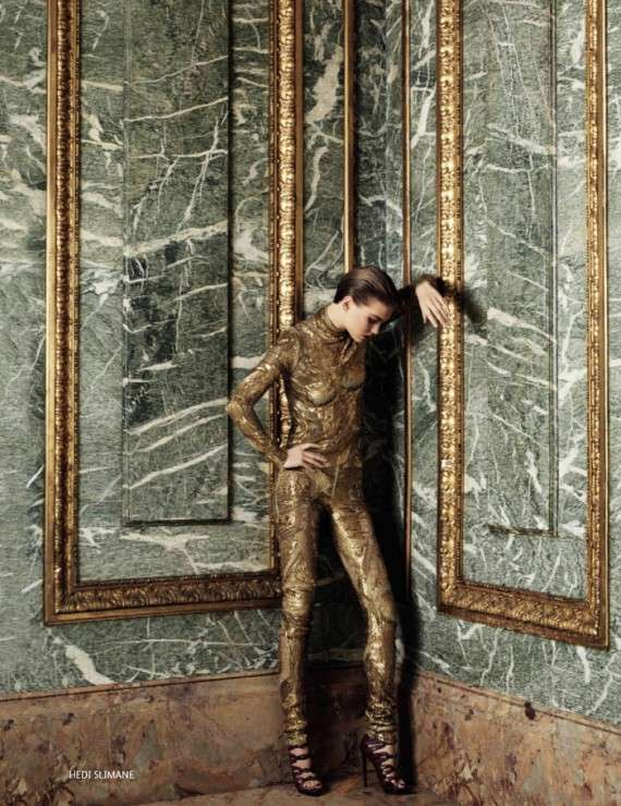 Arizona Muse for Vogue Russia December 2011