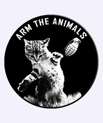 Ferocious Feline Charity Tees