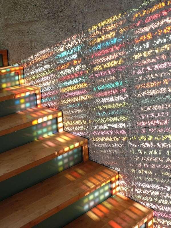 Colorfully Illuminated Abodes