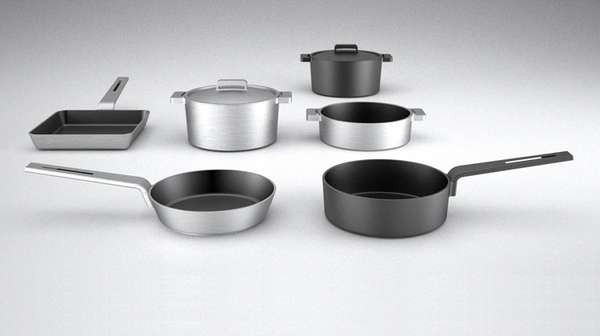 Contemporary Industrial Cookware