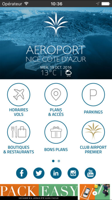 Beacon-Enabled Airport Apps