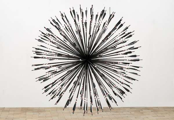 Converging Arrow Sculptures