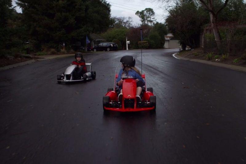 Kid-Friendly Go-Karts
