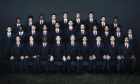 Designer Football Team Suits