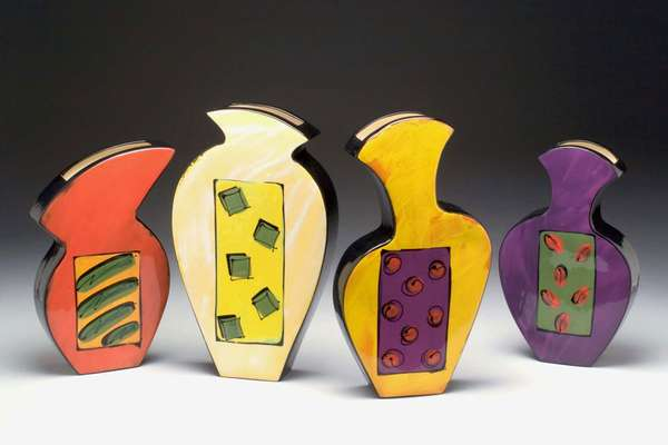 Whimsical Wall Vases