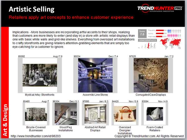 art deco trend report