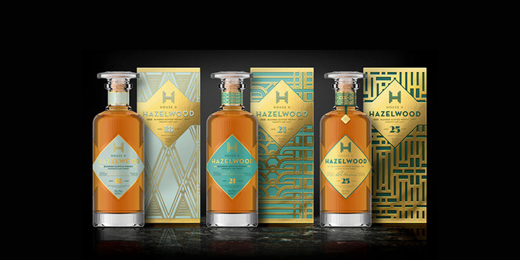Art Deco Scotch Branding