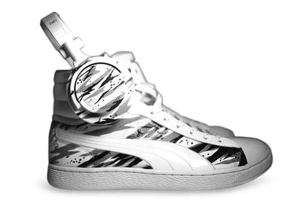 Headphonic Footwear