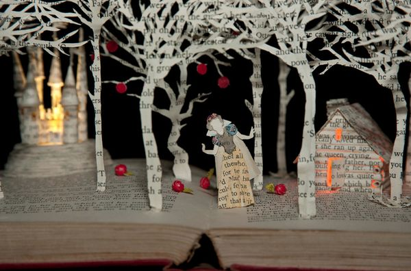 Fairy Tale Book Sculptures