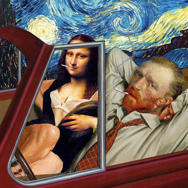 Provocative Art Mashups