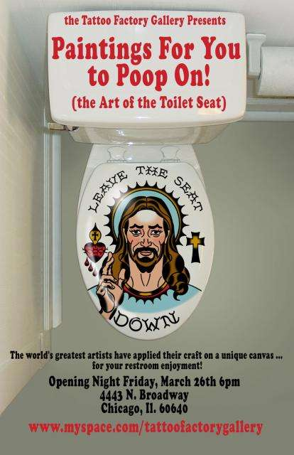 Art of the Toilet Seat