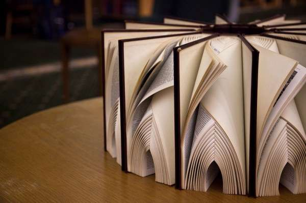 Bounded Book Art Displays