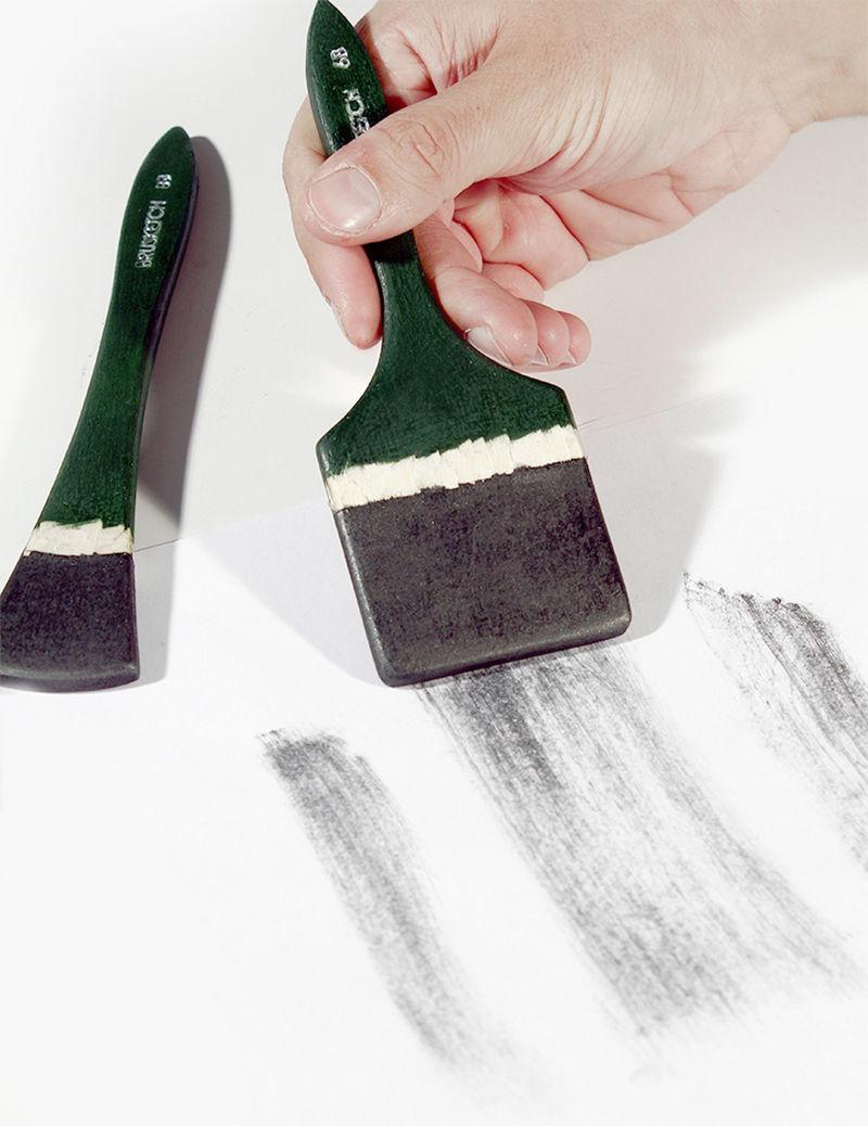 Paint Brush Pencils