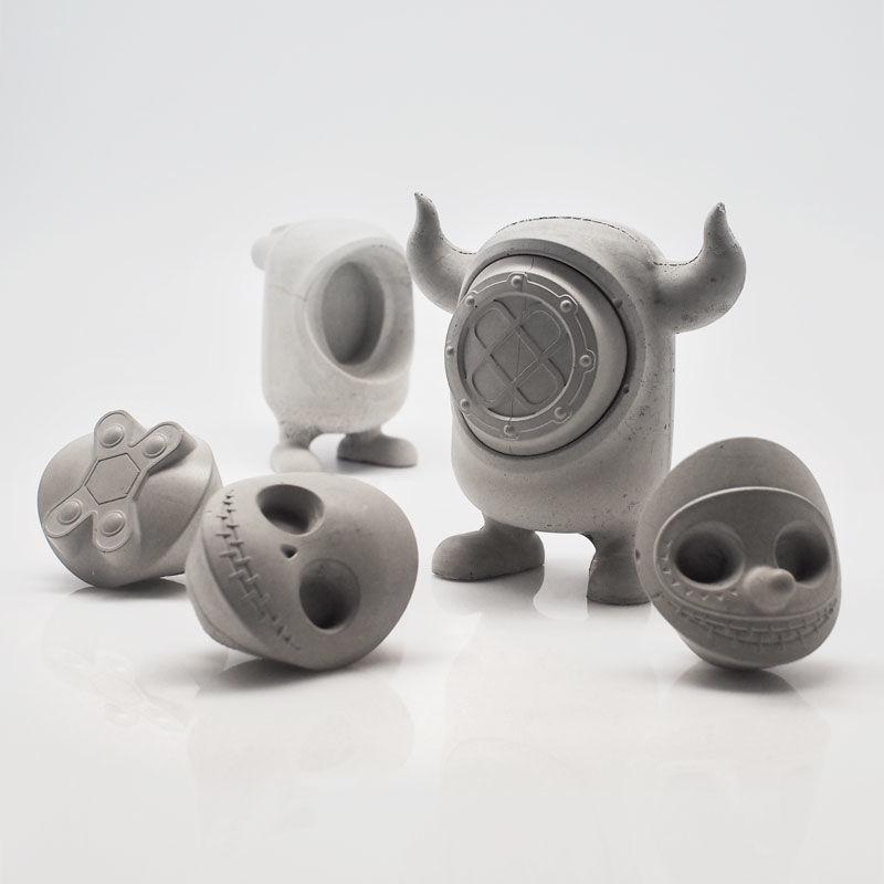 Concrete Monster Toys