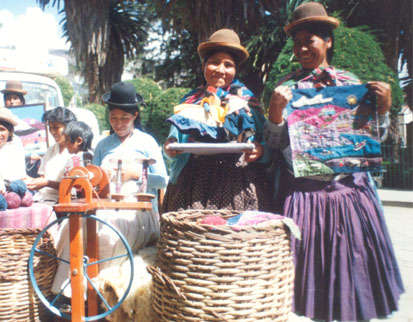 Bolivian Co-Op Clothing