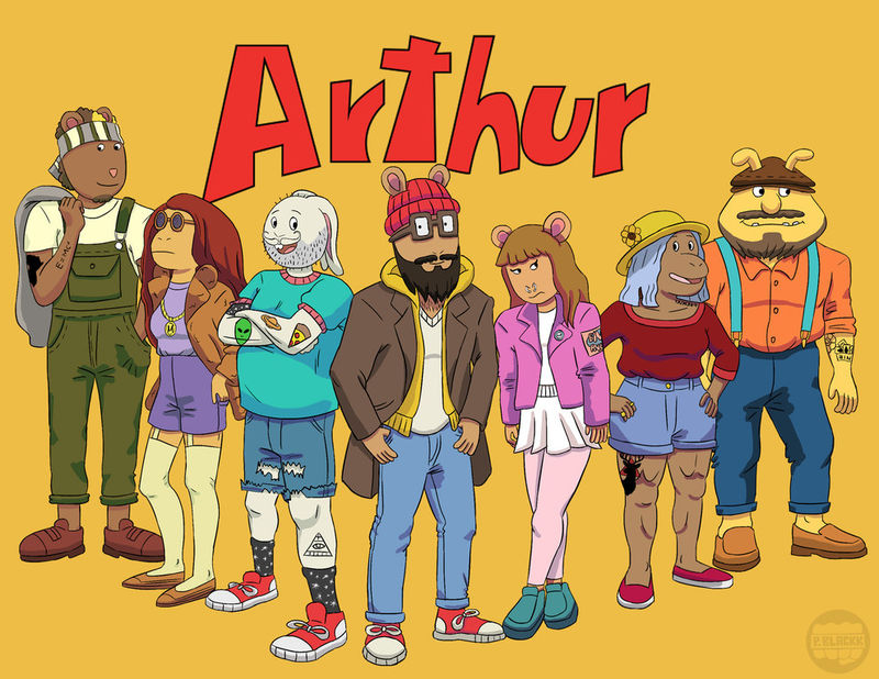 What Was Arthur S Dog S Name
