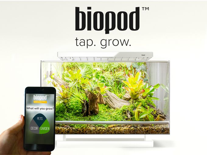 App-Controlled Microhabitats