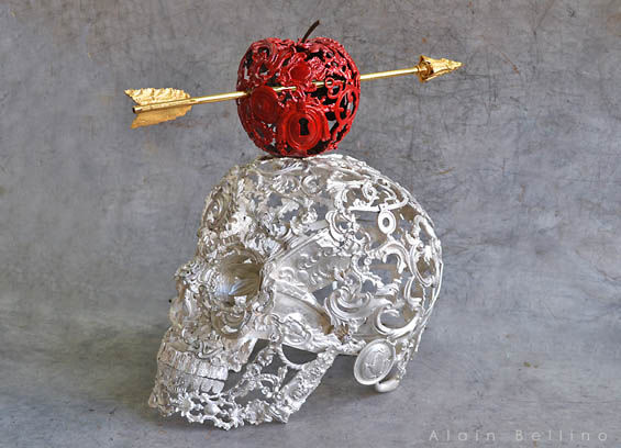 Skeletal Steampunk Sculptures