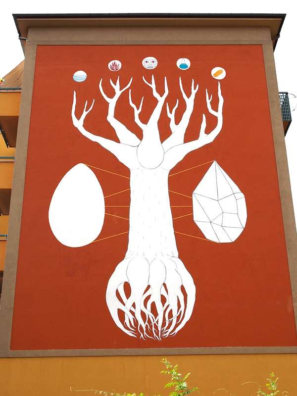 Artistic Air-Cleaning Murals