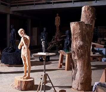 Blazing Sculpture Installations