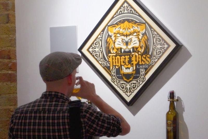 Conceptual Beer Branding Exhibitions