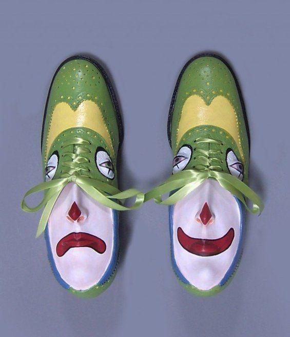 Personified Footwear Sculptures