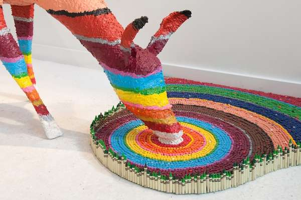 Nature-Inspired Crayola Sculptures