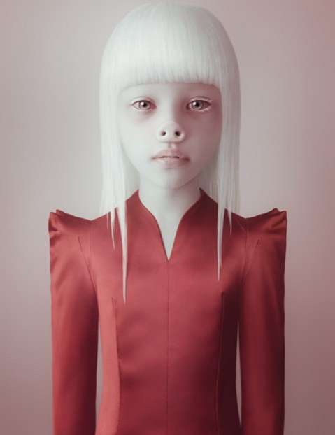 Artist Oleg Dou photographs are beautiful and fiercely eye-catching
