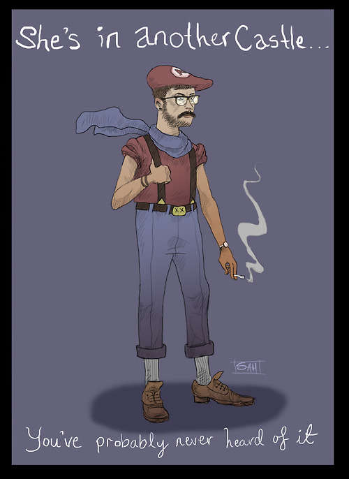 Hipster Gaming Characters