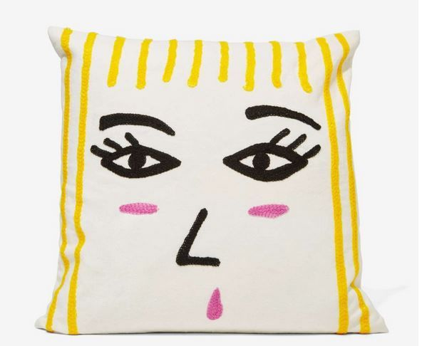 Artistic Pillow Decor