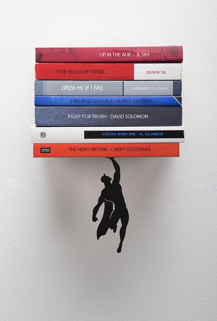 Superhero Book Shelves : Artori Design