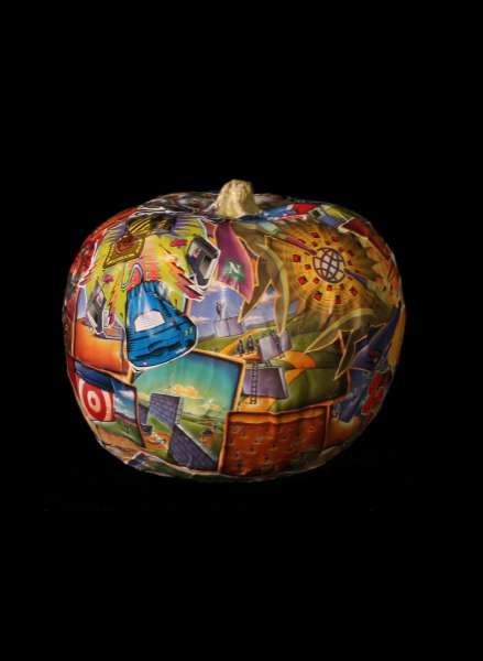 Modern Art Pumpkins