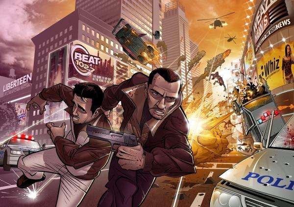 Artwork Grand Theft Auto