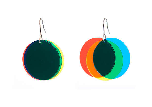 Illusionary Hipster Earrings