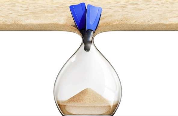 Beachscape Hourglass Ads