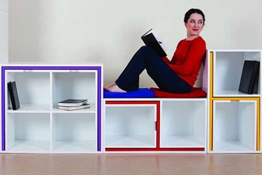 Furniture Hiding Bookshelves