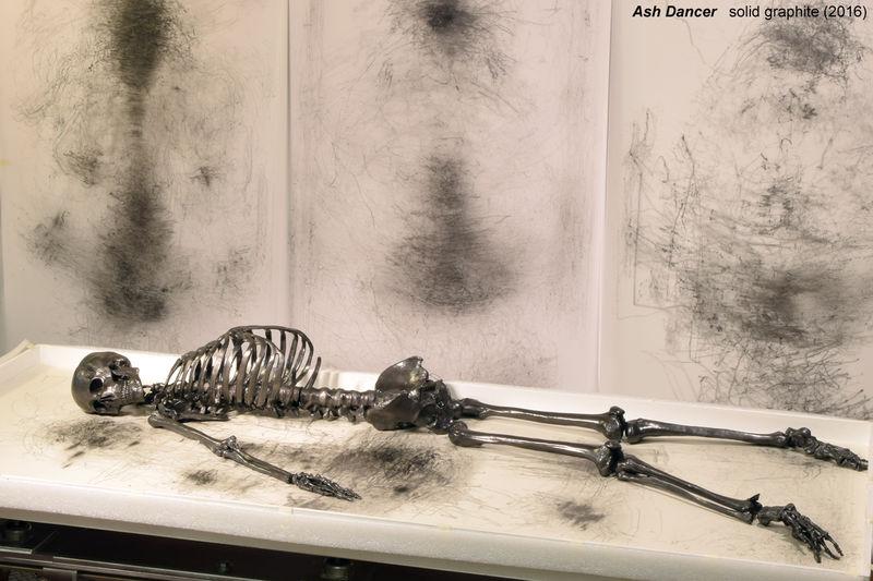 Artistic Graphite Skeletons