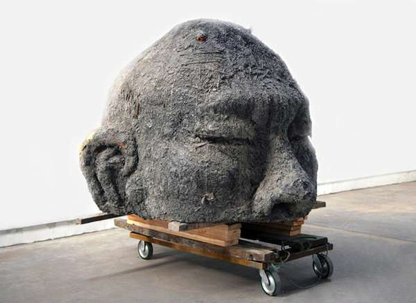 Sooty Self-Portrait Sculptures