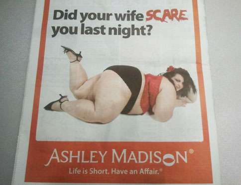Offensive Adultery-Promoting Ads