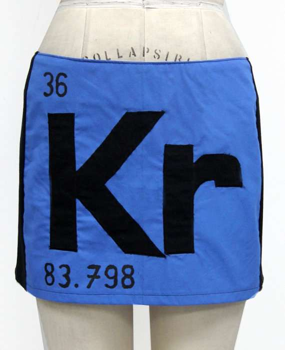 Stylish Scientific Skirts