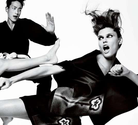 Fighting Fashion Samurai Photoshoots