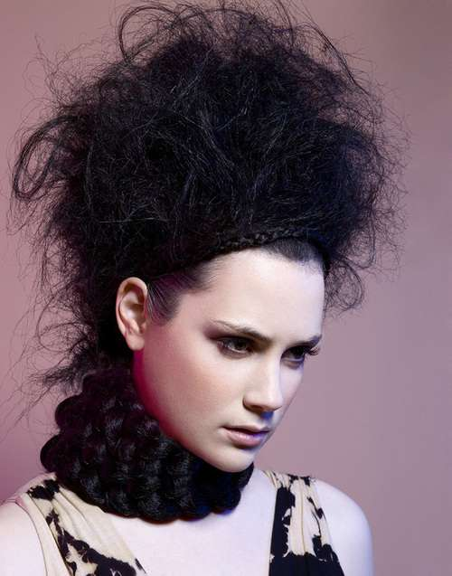 Bird 39 S Nest Updos Asiris Creative Shows 39 Strong Passion 39 In Fashion Photography
