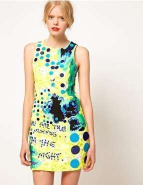 Feminine Graffiti Frocks