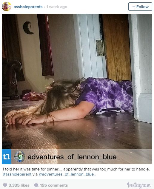 Hilarious Parenthood Instagrams