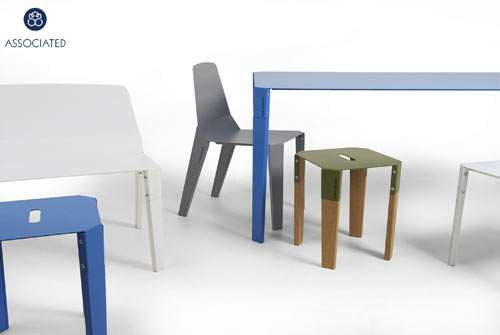 Minimalist Steel Furniture