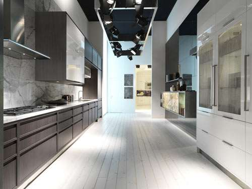 Minimalist 2-in-1 Kitchens