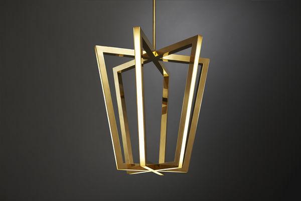 Geometric LED Lamps