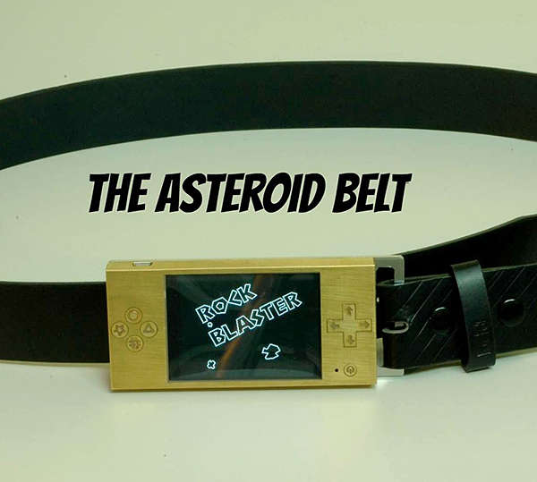 Arcade-Inspired Belts