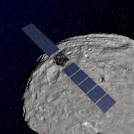 Asteroid-Exploring Software